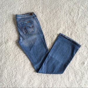 Hint Jeans - Distressed Flare 9